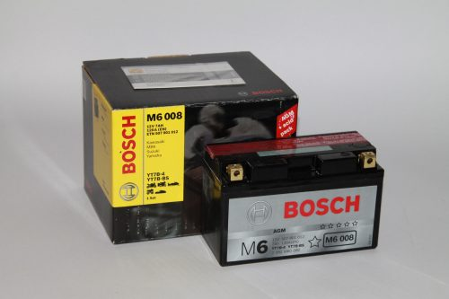 Bosch MOTO AGM 12 V A 5 Ah 105 A YTZ7S-4