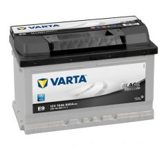 VARTA BLACK  DYNAMIC 12V 70 Ah 640A