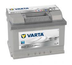 VARTA SILVER DYNAMIC 12V 61Ah 600 A