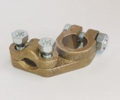 Усилена клема за положителен полюс - за кабел 50/70 мм2