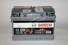 Акумулатор BOSCH AGM S5 12V 70 Ah 760 A