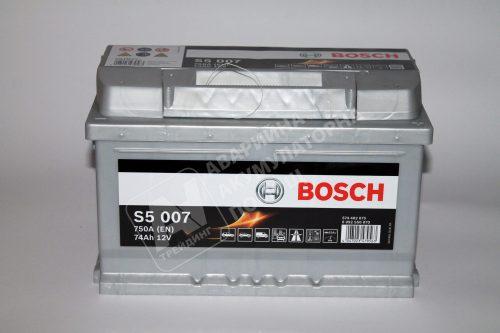 Акумулатор BOSCH Silver S5 12V 74 Ah 750 A