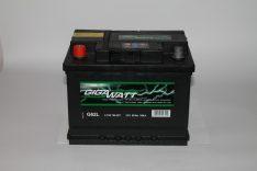 Акумулатор Gigawatt 12V 60 Ah 540 A L+