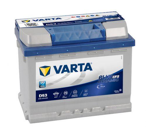 VARTA BLUE DYNAMIC EFB 12V 60Ah 560 A